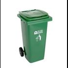 Tempat Sampah Roda BIO 120 Liter 2312 Green Leaf 1
