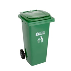 Tempat Sampah Roda BIO 120 Liter 2312 Green Leaf