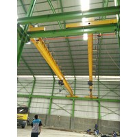 Suplayer crane single girder