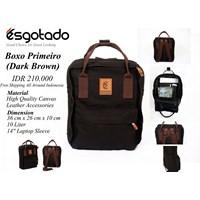 Tas Boxo Primeiro Dark Brown 1