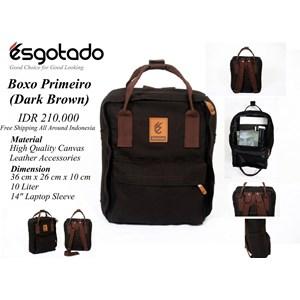 Tas Boxo Primeiro Dark Brown