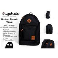 Tas Denimo Tercerio Black 1