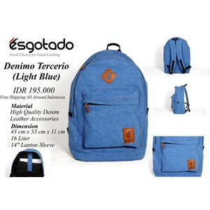 Tas Denimo Tercerio Light Blue