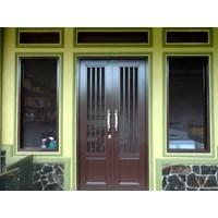 Pintu Aluminium Untuk Utama 1