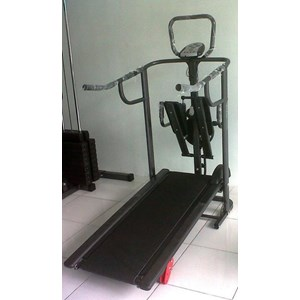 Treadmill Manual 4 Fungsi Anti Gores