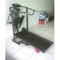 Treadmill Manual 5 Fungsi Anti Gores  1