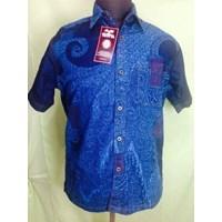 Distributor Kemeja Jeans Batik Tulis 3