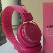 Headphone Nia Mrh8809 Mp3 Fm Radio