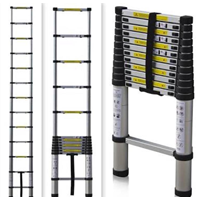 Aluminum Ladder Multipurpose Telescopic Ladder Single Side 4.4 M