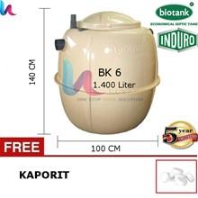 Septic Tank Bio – Tangki Septic Biotank BK 6 Uk 1400 L