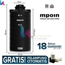 Tangki Air MPOIN PLUS 1200 Tall Toren Tandon 1200 Liter