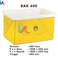 Bak Persegi Terbuka Profil tank BAK 400 Liter – Bak Kotak Terbuka 1
