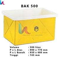 Bak Persegi Terbuka Profil tank BAK 500 Liter – Bak Kotak Terbuka
