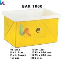 Bak Persegi Terbuka Profil tank BAK 1000 Liter – Bak Kotak Terbuka