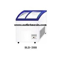 Mesin Sliding Curve Glass Freezer 1