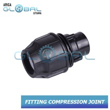 PIPA HDPE Fitting Compression Joint