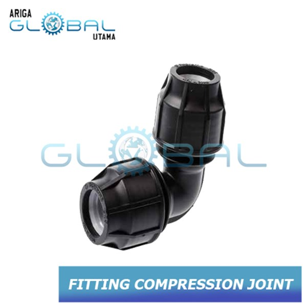 Fitting Pipa HDPE Compression Elbow90