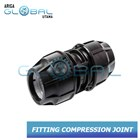 Fitting Pipa HDPE Compression Coupler Socke 1