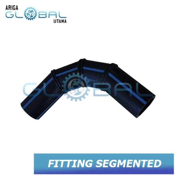Fitting Pipa HDPE Bend 90 Segmented