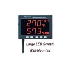 Alat Uji Cuaca Large Led Screen Humidity Monitor