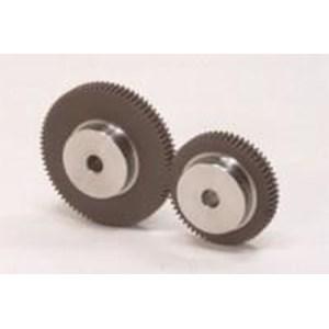 Plastic Spur Gears with Steel Core (NSU)] Series list (suku cadang mesin)
