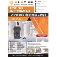 Jual Ultrasonic Thickness Gauge Time 2430