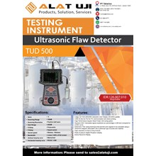 Ultrasonic Flaw Detector TUD 500