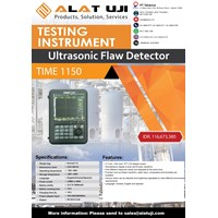 Jual Ultrasonic Flaw Detector Time 1150