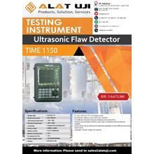 Ultrasonic Flaw Detector Time 1150