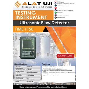 Ultrasonic Flaw Detector Time 1150