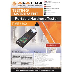 Portable Hardness Tester TIME 5302
