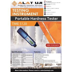 Portable Hardness Tester TIME 5120
