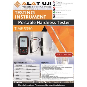 Portable Hardness Tester TIME 5350
