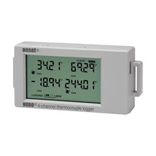 HOBO 4-Channel Thermocouple Data Logger UX120-014M