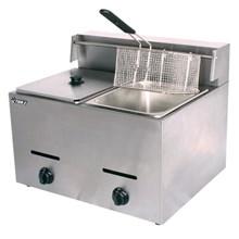 Mesin Penggoreng 2 Tungku (Gas Fryer Double)