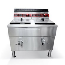 Gas Deep Fryer / Penggorengan Gas 2 x 17 liter den