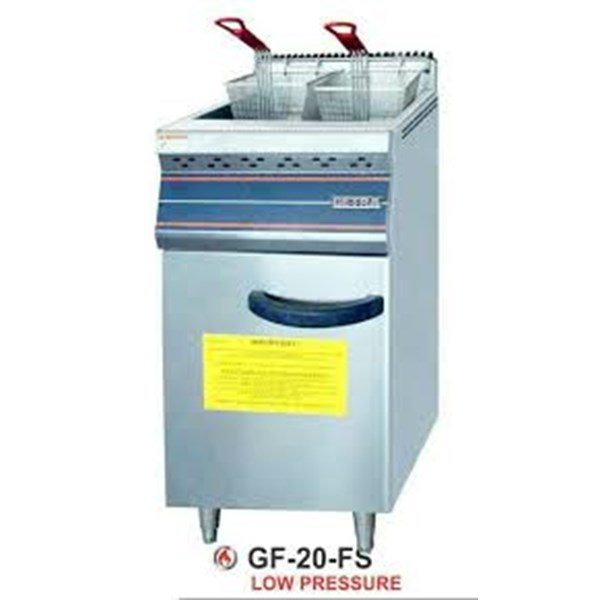 Gas Deep Fryer / Penggorengan LPG kapasitas 20 liter