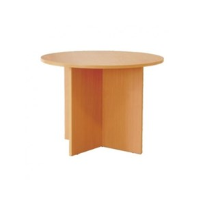 Meja Rapat Bulat Ergostar Desk Panel