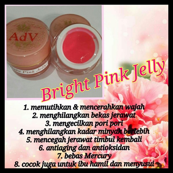 Bright Pink Jelly