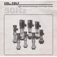 Pompa Centrifugal Light Vertical Multistage CDL & CDLF