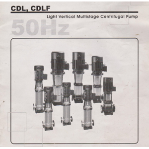 Sell Light Vertical Multistage Centrifugal Pump CDL & CDLF from