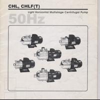 Pompa Centrifugal Light Horizontal Multistage CHL & CHLF (T)