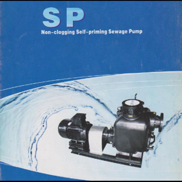 Non Clogging Self Priming Sewage Pump CNP SP