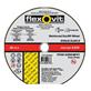 Batu Gerinda / Mata Gerinda (Cutting Wheel Disc) Flexovit Flat Inox