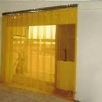 Tirai PVC Curtain Yellow Jakarta