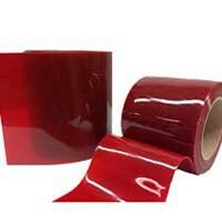 Pvc Curtain Red Tirai Pvc