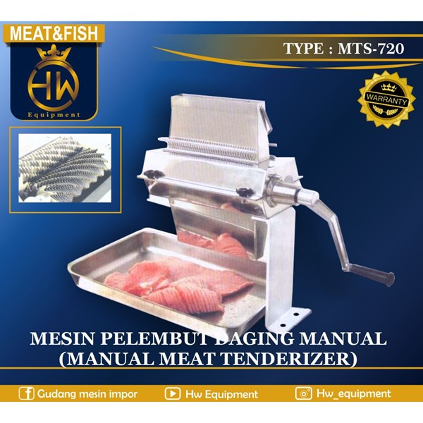 Mesin Pelunak / Pelembut Daging Manual
