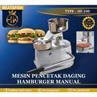 Mesin Cetak Daging Hamburger Dan Nugget Manual 1