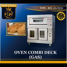 Gas Combi Deck Oven
