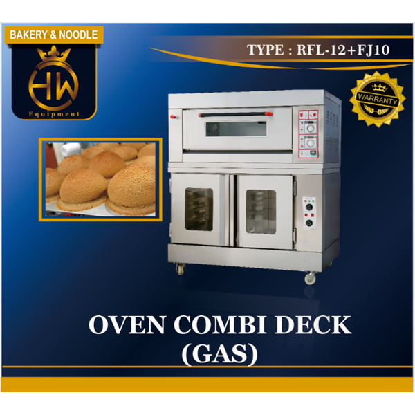 Mesin Oven Gas Combi Deck